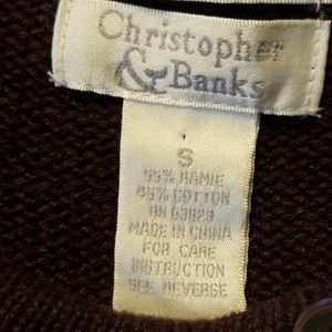 Christopher & Banks Sweaters - Christopher & Banks Button Front Sweater👚